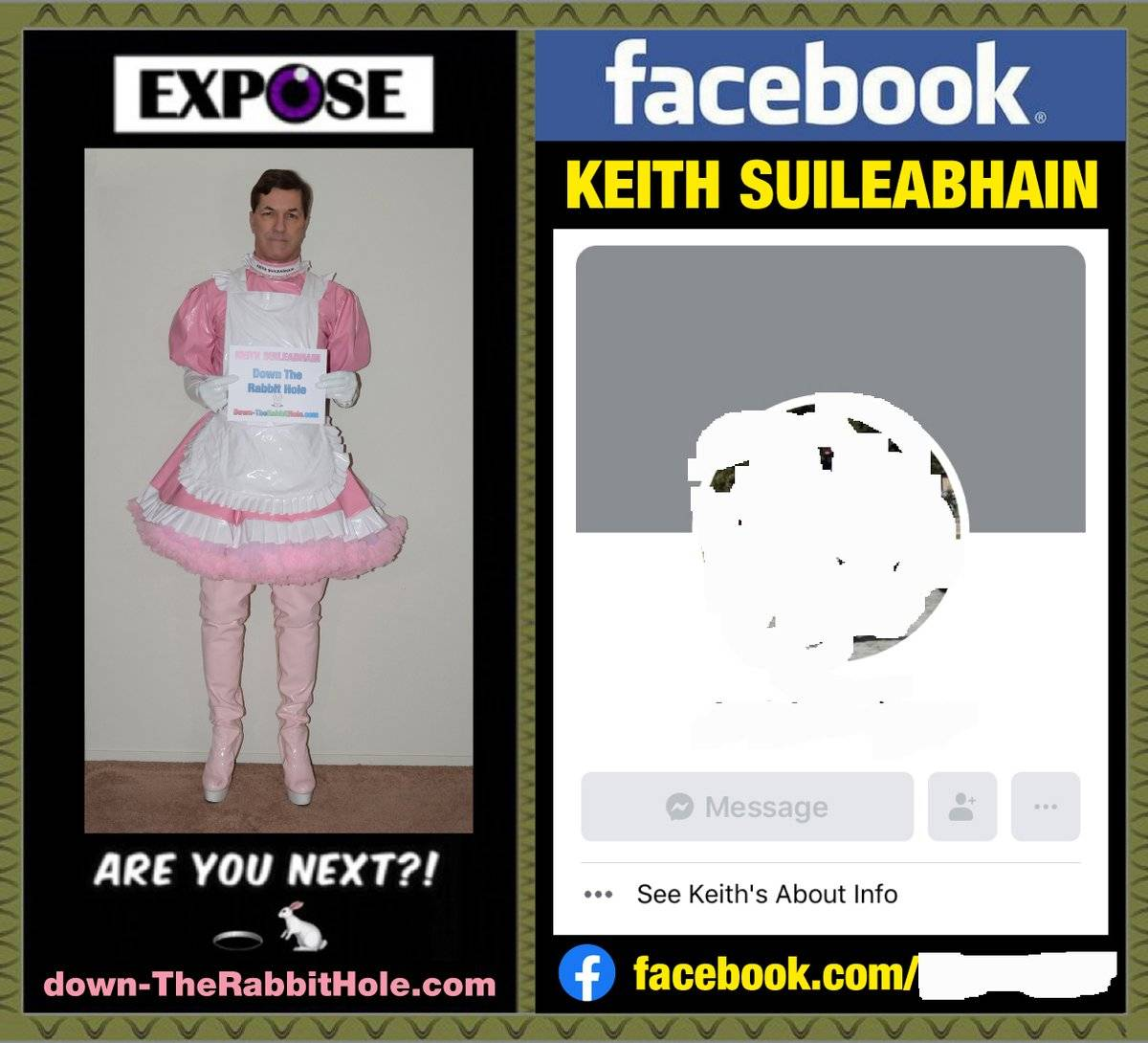 KEITH SUILEABHAIN IS NOW FULLY OUTED